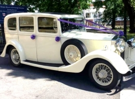 1935 Rolls Royce wedding car in Doncaster
